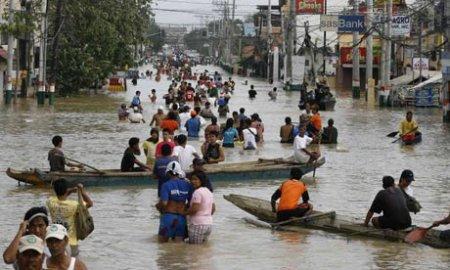 Тропический тайфун «Налгай» на Филиппинах