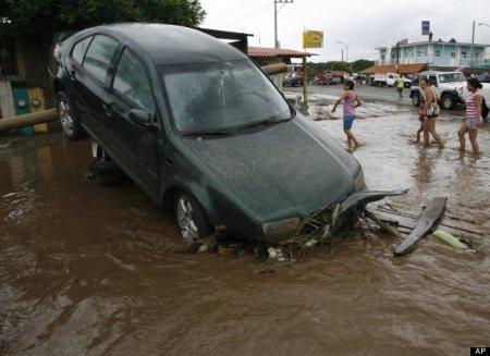 Последствия урагана «Йова» в Мексике