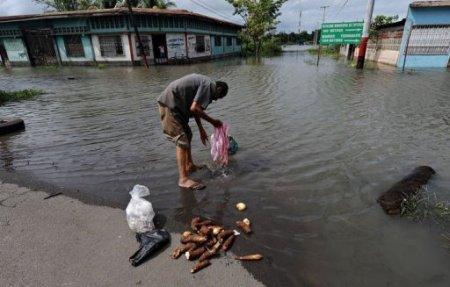 Наводнения и оползни в Центральной Америке