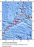 Ученые обеспокоены необычайной сейсмической активностью на Азорских островах в Атлантическом океане