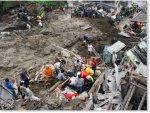 Массивные оползни в городе Манисалес в Колумбии