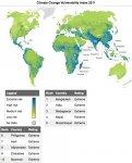 10 стран наиболее подверженных риску климатических изменений