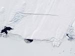 Ледник острова Пайн треснул