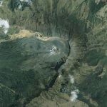 Предупреждение об извержении вулкана в Колумбии