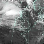 На северо-запад Европы надвигается зимний ураган