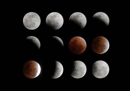 Лунное затмение 10 декабря 2011. Лучшие фотографии