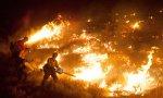 В Неваде снова бушуют лесные пожары