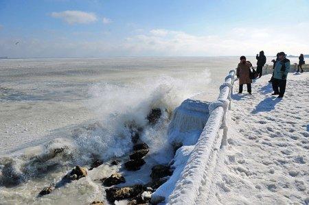 Холода в Европе: фоторепортаж