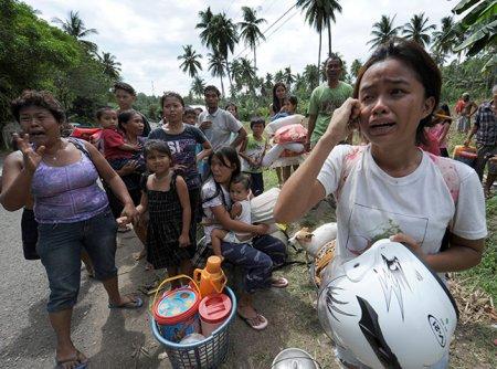 Землетрясение в Филиппинах: фоторепортаж