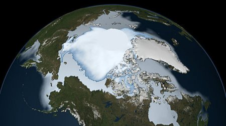 Потери льда в Арктике увеличиваются