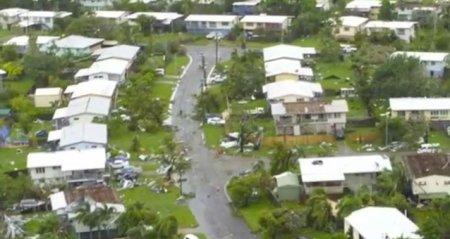 Мини-торнадо пронесся над австралийским городом