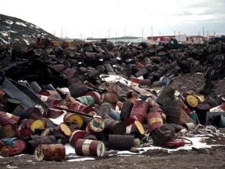 Обнаружены нелегальные токсичные отходы в России