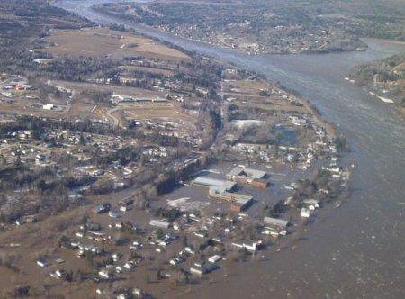 Наводнение на востоке Канады