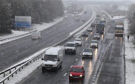 В Шотландии снова зима