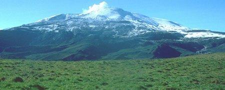 Ожидается извержение колумбийского вулкана