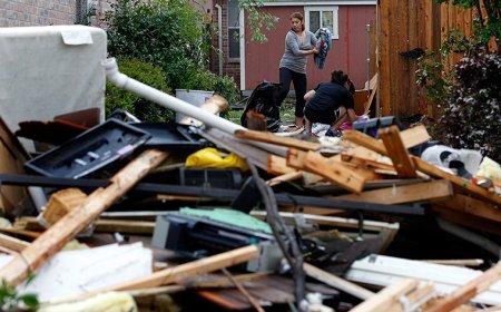 Торнадо в Техасе: фоторепортаж