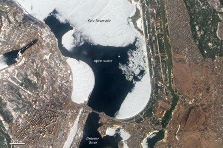 Опасения сильнейшего наводнения и ядерного события на Днепре