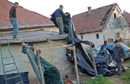 На Венгрию налетел торнадо