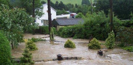 Сильное наводнение в Великобритании
