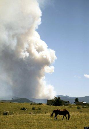 На западе США неистовые пожары