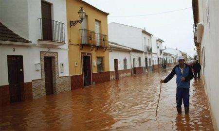 Наводнение на юге Испании