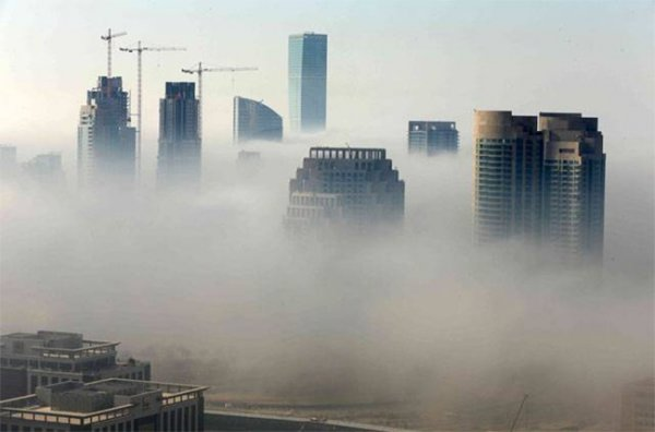 Густой туман ОАЭ унес жизни двоих человек