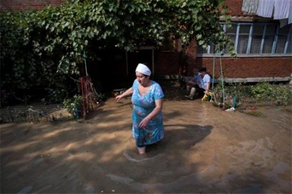 Наводнение в Дагестане
