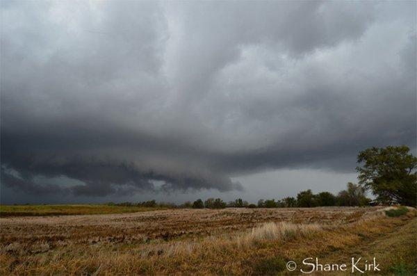 Техасский торнадо удивил всех огромными градинами