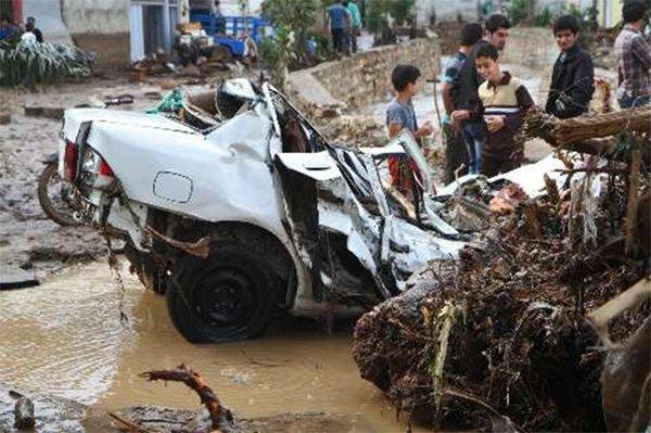 Наводнение на севере Ирана