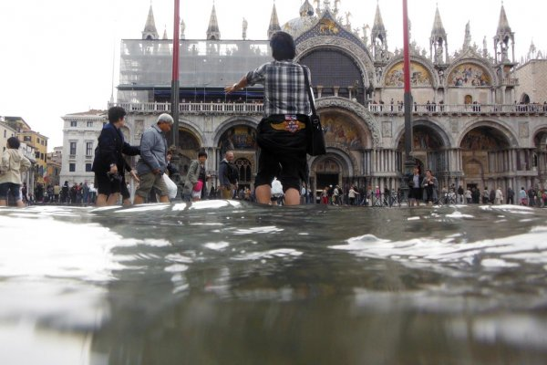В Венеции наступил период «высокой воды»
