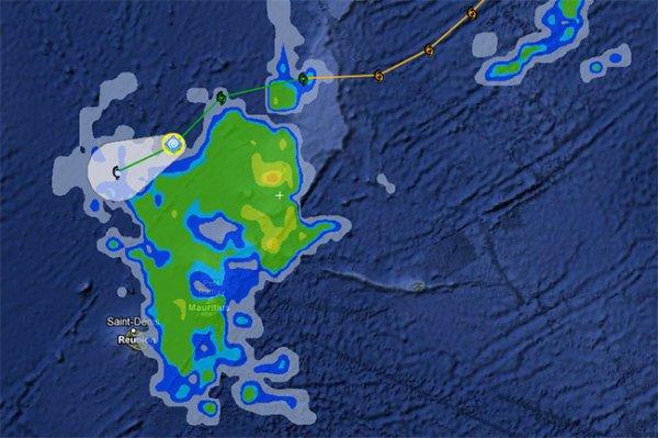 В Индийском океане сформировался редкий циклон