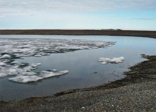Глобальное потепление вернуло к жизни самое северное озеро Земли