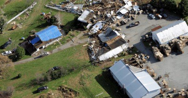 Метеослужба подтвердила факт возникновения торнадо в Пенсильвании