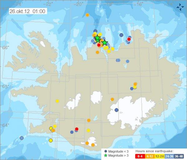 Исландия готовится к сильному землетрясению