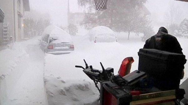 Во время снежной бури во Франции пропали люди