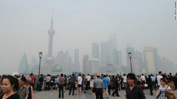 Шанхайский воздух стал еще более опасным