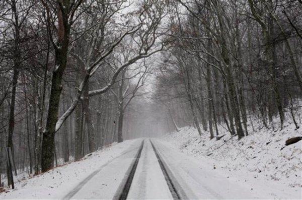 Ранняя зима пришла в Восточную Европу