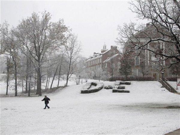 Зима продолжает продвигаться по Европе