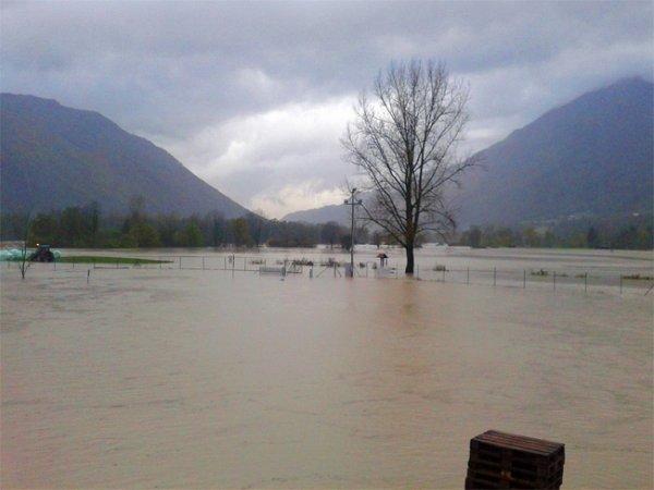 Наводнение в Словении