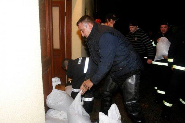 Наводнение в Хорватии вызвало эвакуацию населения