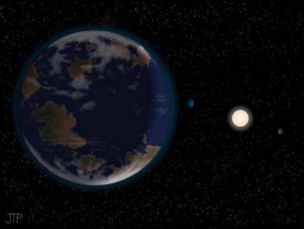 В космосе найдена потенциально обитаемая планета