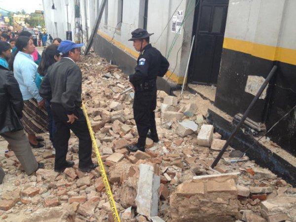 Землетрясение в Гватемале
