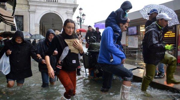Венеция и юг Италии затоплены после дождей