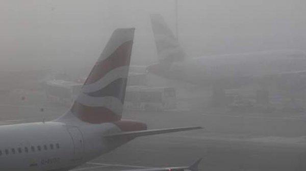 Хаос в британском воздушном пространстве из-за туманов