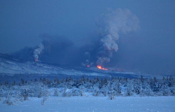 Активность мировых вулканов в 2012 году