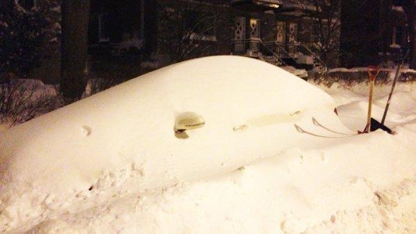 В Монреале выпало рекордное количество снега