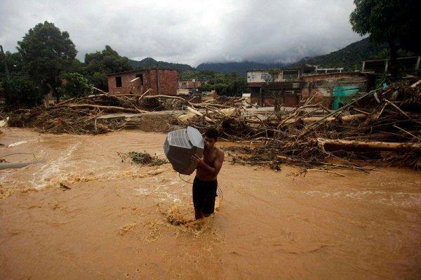 Наводнение в Рио-де-Жанейро