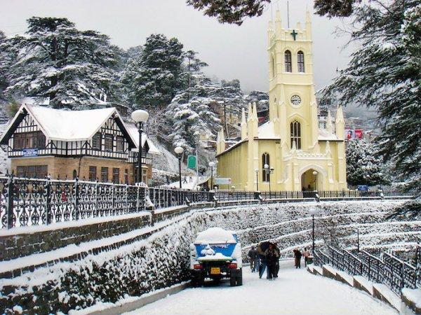 Северная Индия пережила сильнейший снегопад