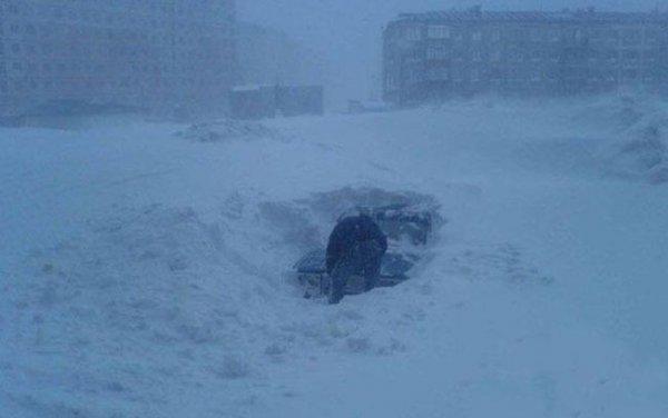 Россия переживает снежный апокалипсис