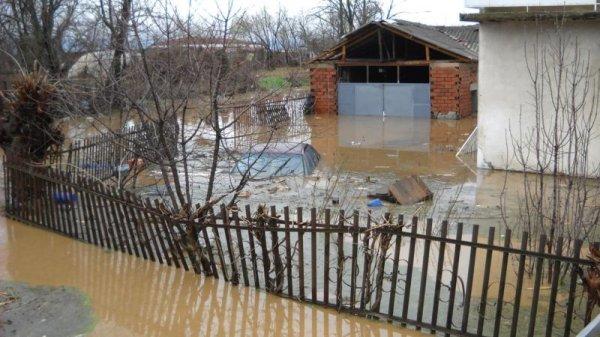 Наводнение в Македонии
